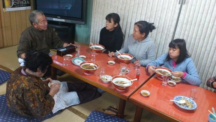 歩き人ふみの徒歩世界旅行 日本・台湾編-ラーメン屋のおじさんと