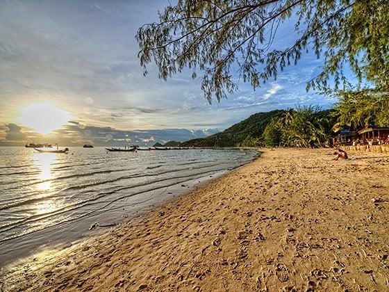 四六時中タイ旅行に行きたい!-タオ島のビーチ