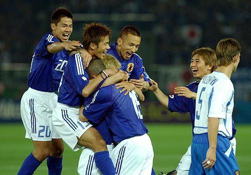 日韓ワールドカップ 初勝利 日本代表
