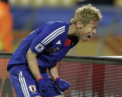 本田圭佑 南アフリカワールドカップ 日本代表