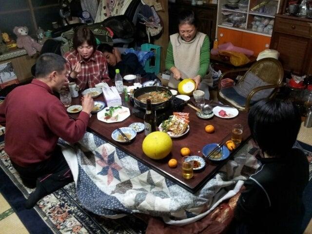 $歩き人ふみの徒歩世界旅行 日本・台湾編-牛之濱家の大晦日
