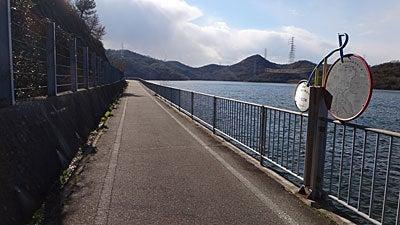 おやまのしゅっぽ 出発進行~♪-加古川右岸自転車道