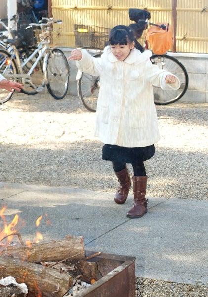 門真・萱島の写真館 Photo Studio Ohana な日々-たき火