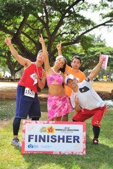 $ホノルルマラソン2012のブログ