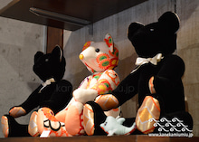 和雑貨セレクトショップ『カネカみぅみぅ』東京・自由が丘本店-古布ぬいぐるみ テディベア 正月 福袋