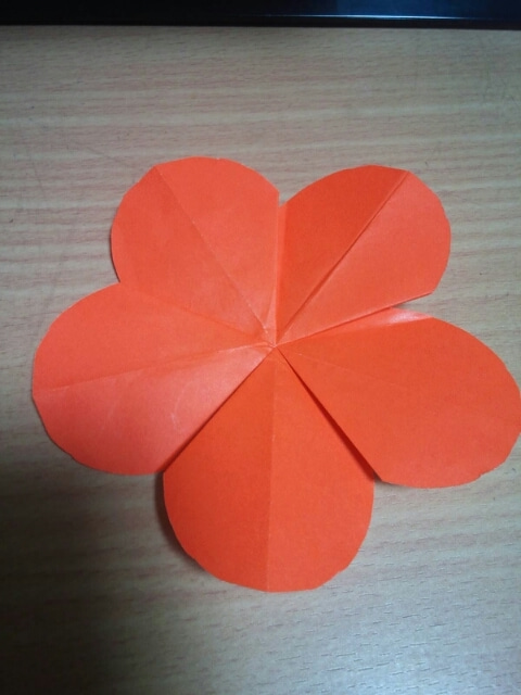 折り 折り紙 折り紙 梅 : ameblo.jp