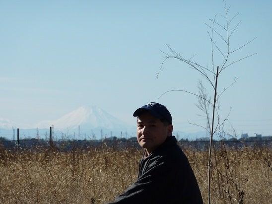 マイケルの通教生日記(Michael's Journal)-富士山をバックに