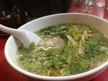 埼玉県草加市松原にある「ほぐし庵」は体も心もほぐします-蘭州 香菜麺