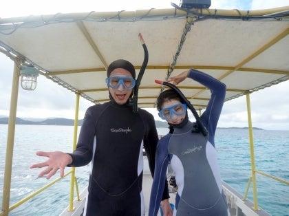 西表島ダイビング あべちゃん海ブログ  「にこにこダイビング」-泳ぐ前