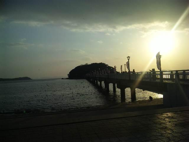 僕の毎日 そして過去-夕暮れの海
