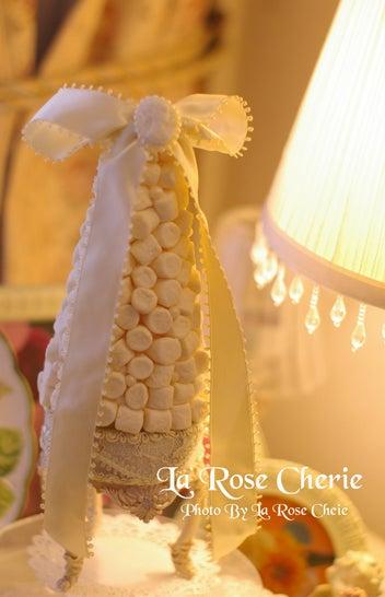 デコレーション教室 La Rose Cherie(ラ・ローズ・シェリー) -マシュマロタワー