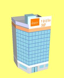 色々な建物の展開図が公開されています。 ダウンロードはyahooボックスから。