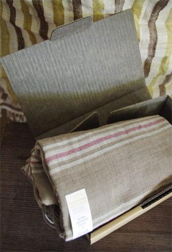 *カンボジアの綿クロマーと赤ちゃん帽子のお店*-梅炭パッケージ