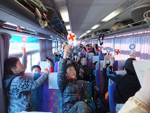 浄土宗災害復興福島事務所のブログ-20121226ふくスマ〇×クイズ