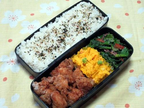 小松菜とパプリカのナムル