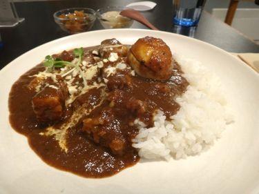 横浜発 驢馬人の美食な日々-woof curry03