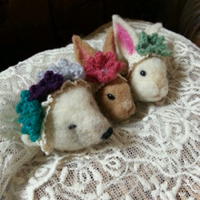 $『Anneのてしごと』*羊毛で可愛い動物を作りたい*-1357905410293.jpg