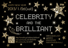 .。゚+..。゚+. CELEBRITY & THE BRILLIANT .。゚+..。゚+