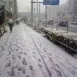東京都内で初冠雪!!…