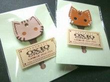 OXIO-CRAFT(オキクラ)の「革雑貨」制作日記-肉球型ホルダー