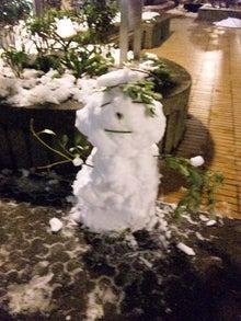 和光市長 松本たけひろの「持続可能な改革」日記-雪だるま