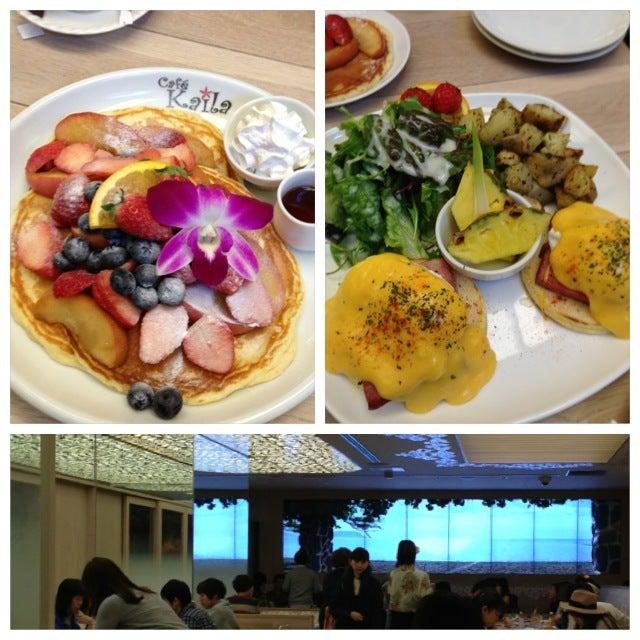 Oikuttelevat Blog 27-cafe kaila パンケーキ