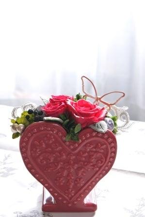 $『YOKO HAYASHIBARA』 こだわりのプリザアトリエ-スージーバレンタイン