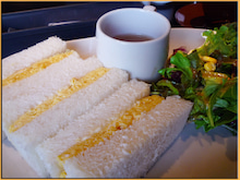 Kirin's Cafe  Style  /  カフェ・雑貨・グルメ & 街歩き-谷中 カバヤ珈琲 たまごサンド