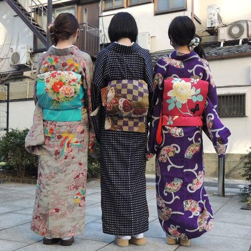 東京で着物ライフを楽しむ会 ~東京きものライフ~-集合写真、後ろ