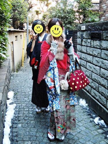 東京で着物ライフを楽しむ会 ~東京きものライフ~-雰囲気のいい小路(1)