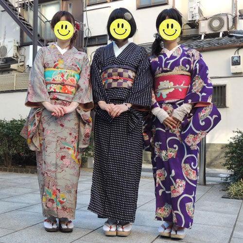 東京で着物ライフを楽しむ会 ~東京きものライフ~-集合写真、前