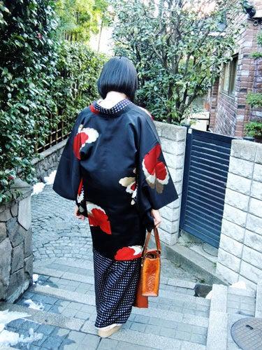 東京で着物ライフを楽しむ会 ~東京きものライフ~-雰囲気のいい小路(2)
