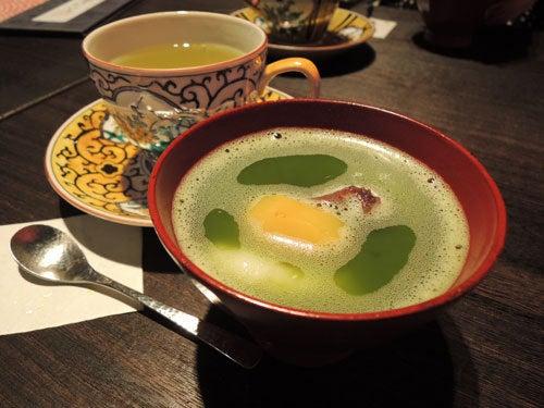 $東京で着物ライフを楽しむ会 ~東京きものライフ~-抹茶のおしるこ