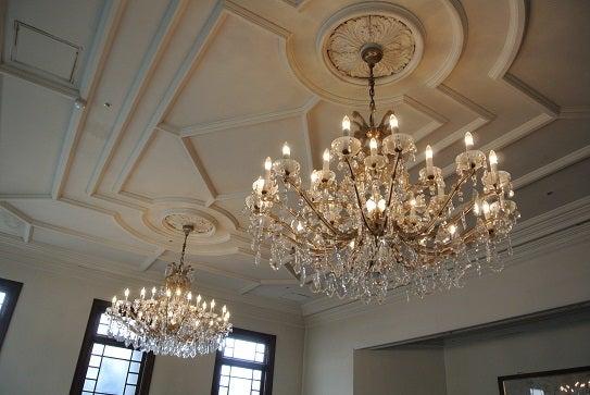 銀座由美ママの心意気-太閤園 淀川邸の唯一の洋間 藤の間