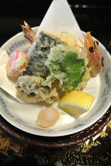 銀座由美ママの心意気-太閤園 淀川邸 茶室 大炉 揚物