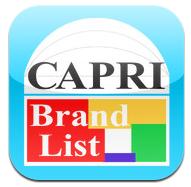 カプリ中心部 200以上のブランドショップを網羅した検索アプリ