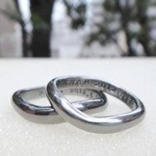 $レアメタル(希少金属)の結婚指輪 代官山指輪工房-ハフニウム 指輪