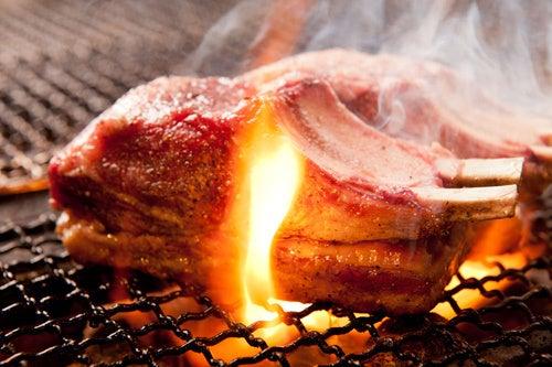 $浜松町の炭火焼「braceria BAVA」のブログ-料理
