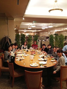 練馬の「だいこん丸」による新鮮野菜ブログ-新年会2