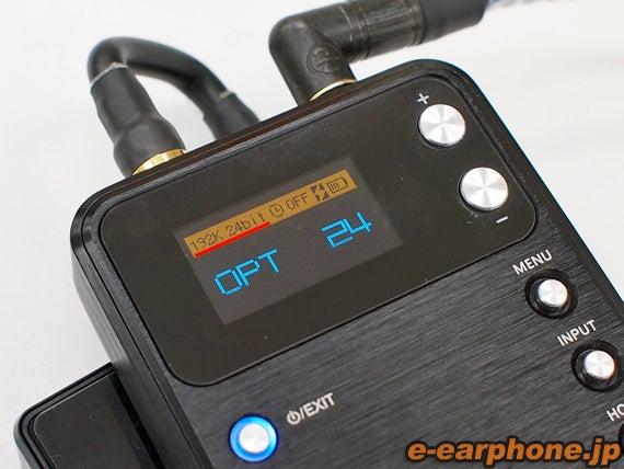 イヤホン・ヘッドホン専門店「e☆イヤホン」のBlog-AK100から光接続!ハイレゾをもっと高音質で!19