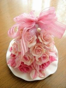 $Aroma soap clay ~香りの花せっけん~-薔薇タワー