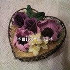 Aroma soap clay ~香りの花せっけん~-アネモネとバラ
