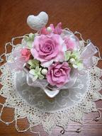 Aroma soap clay ~香りの花せっけん~-ばら