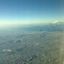 空からの景色。