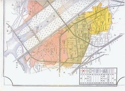 観天望気 -田野 登--鷺洲町全図