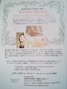 "Rosetta Beauty BLOG ""Ami Style"""