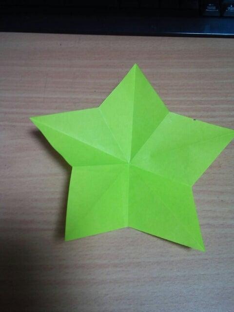 簡単 折り紙 折り紙 星 切る : divulgando.net