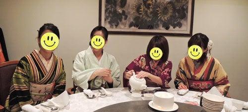 東京で着物ライフを楽しむ会 ~東京きものライフ~-中華円卓(3)