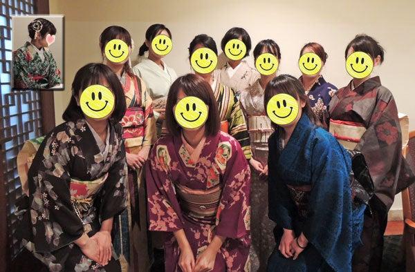 $東京で着物ライフを楽しむ会 ~東京きものライフ~-全員集合!