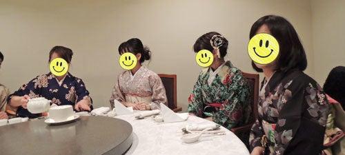 東京で着物ライフを楽しむ会 ~東京きものライフ~-中華円卓(1)